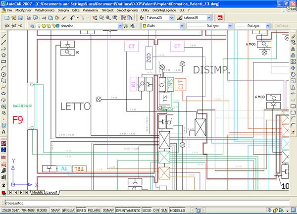 progettazione domotica